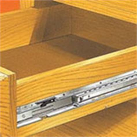 How To Install Side Mount Drawer Slides by Side Mount Drawer Slide Information