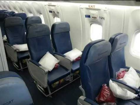 international comfort delta airlines 767 300 economy comfort class seat review