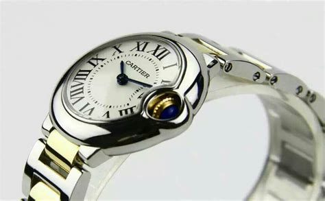 Cartier Swiss Eta White On Brown Leatter Strab cartier spot on replica watches and reviews