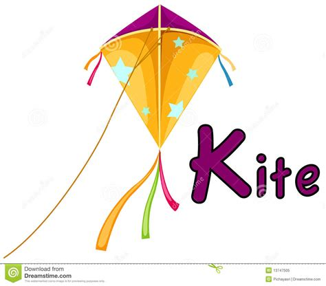 Letter Of Credit Kiting Alphabet K For Kite Royalty Free Stock Photo Image 13747505