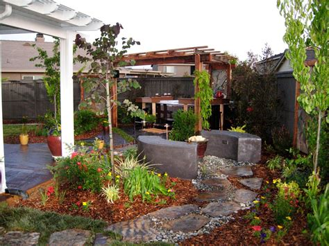Backyard Makeover Ideas by Beautiful Backyard Makeovers Diy Landscaping Landscape