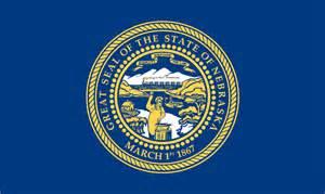 nebraska colors pin nebraska state flag on