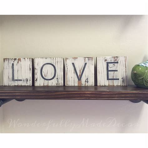 scrabble letters home decor 1000 images about wonderfully made decor business on