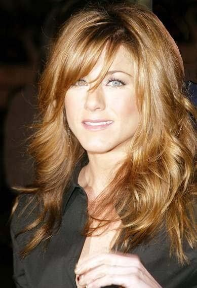 Jennifer Aniston Side Bangs | 1 jennifer aniston bangs hairstyle beauty pinterest