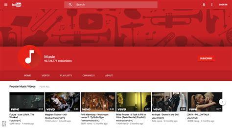 layout do youtube 2016 youtube testuje material design w całym serwisie