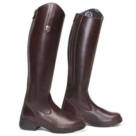 rider boots mountain equestrian regency high rider leather