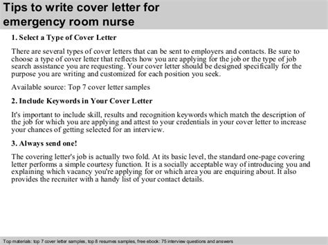 cover letter for emergency room emergency room cover letter