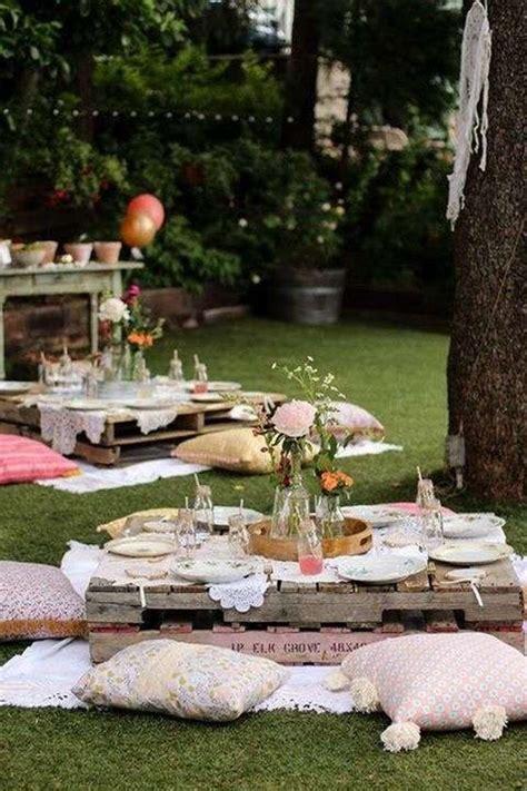 backyard picnic ideas 25 outdoor picnic wedding ideas to copy deer pearl