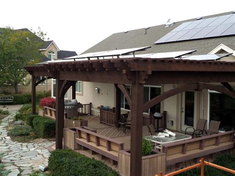 pergola bench 50 architectural landscaping trends for 2015 western