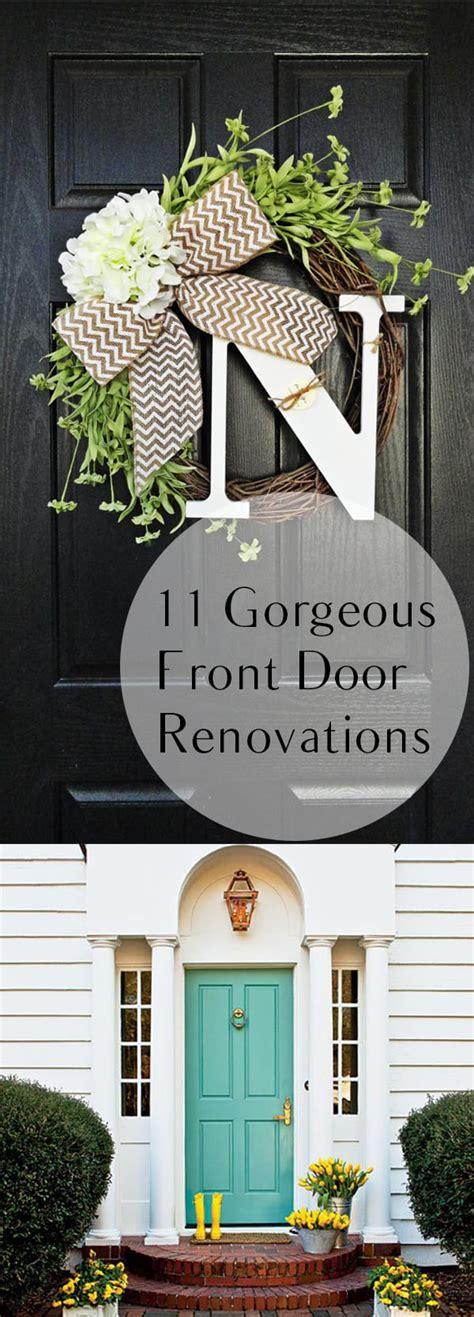 gorgeous front door renovations   build