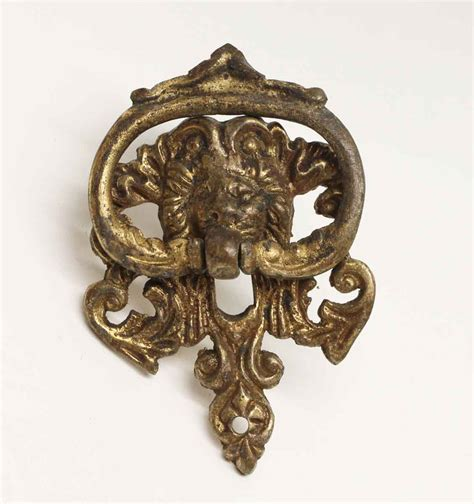 Furniture Pulls Antique Brass Drawer Drop Pull Olde Things