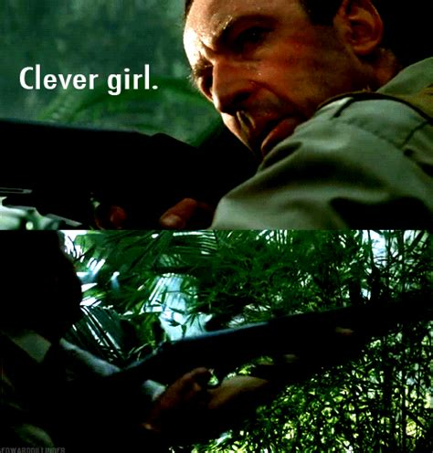 Clever Girl Meme - jurassic park gifs on tumblr