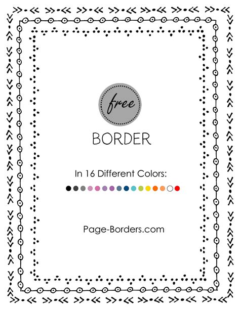 doodle borders free free border doodle customize and then or