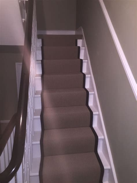 black patterned stair carpet patterned stair carpet runner fitted in farringdon the