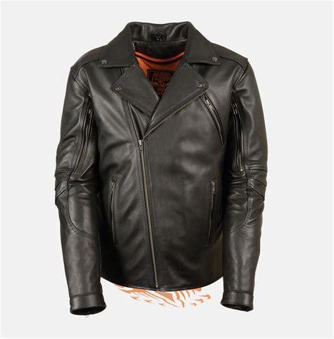 biker apparel men s black belt less leather police jacket bikers gear