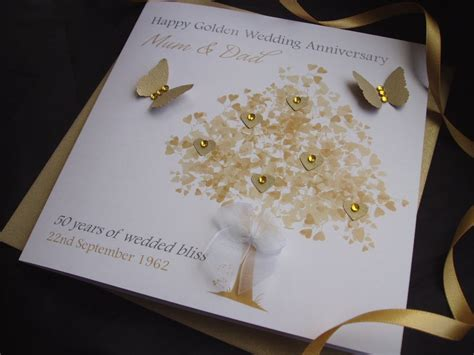 unique designs of handmade wedding anniversary cards