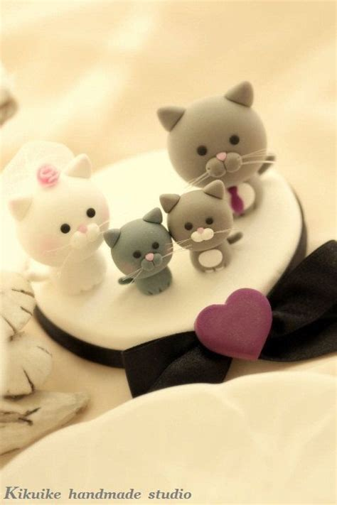 new themes for couple kitty lovely cat and kitty wedding cake topper for the couple by