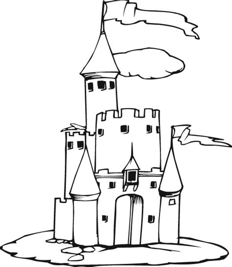 coloring page of a princess castle new disney coloring pages princess cinderella castle