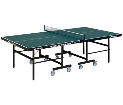 butterfly tr35 premium rollaway ping pong table