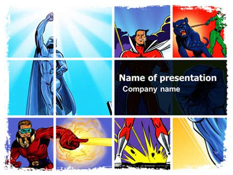 Marvel Powerpoint Templates And Backgrounds For Your Presentations Download Now Free Comic Book Style Powerpoint Template