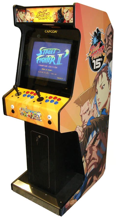 Fighter Ii Arcade Cabinet by Astral Fighter Arcade Machine