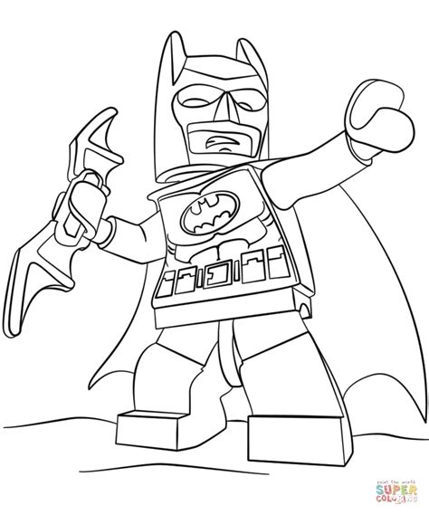 lego batman coloring pages just colorings