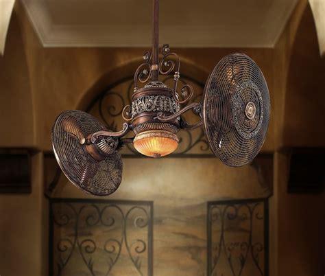 gyro twin ceiling fan traditional gyro twin turbo ceiling fan belcaro walnut