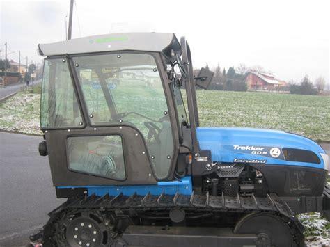 cabine trattori landini cabine pour landini chenilles trekker agrital
