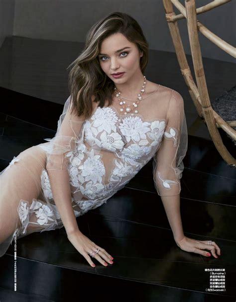 Miranda Dress By Bungas miranda kerr magazine china march 2016 issue