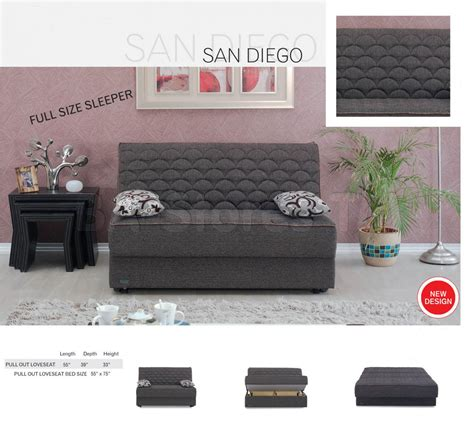 san diego armless sleeper sofa bed sofa beds san diego