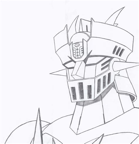 Mazinger Z Drawing by Z Mazinger Chion Of Olympus By Kaizer617 On Deviantart