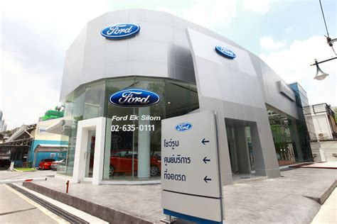 ford roadside assistance thailand ford opens 100th showroom in thailand