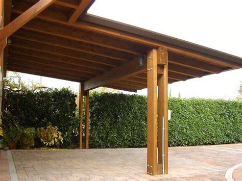 tettoie auto legno tettoie legno tettoie e pensiline caratteristiche