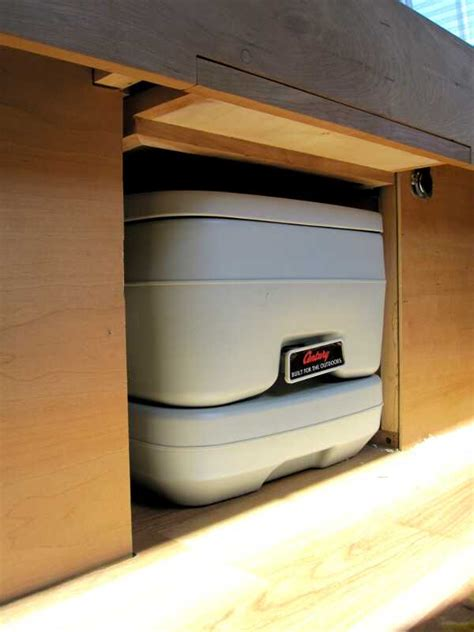 toilet cargo van conversion