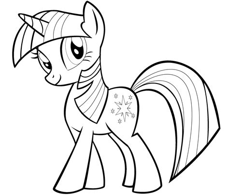 My Pony Coloring Pages Twilight Sparkle my pony twilight sparkle coloring pages