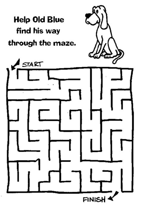 Printable Science Maze | free printable mazes for kids at allkidsnetwork com