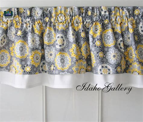 Yellow And Gray Kitchen Curtains The World S Catalog Of Ideas