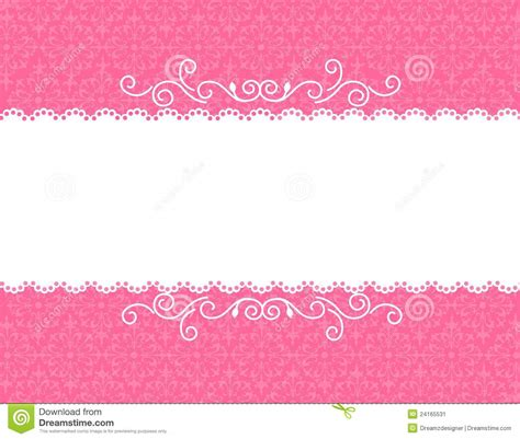 invitation card background stock vector image of