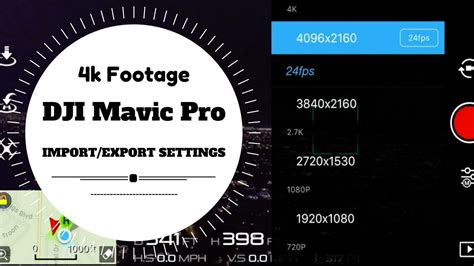 final cut pro youtube settings how to import export dji mavic pro 4k footage best