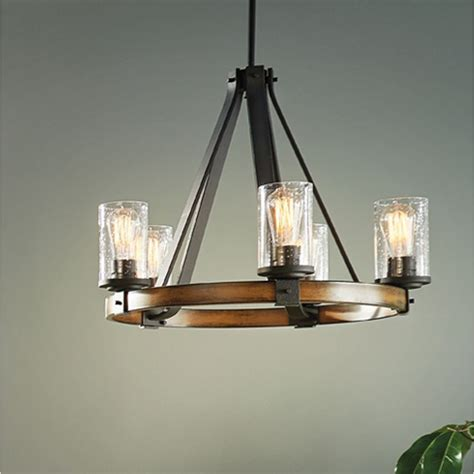 kichler barrington ceiling fan shop kichler lighting barrington 3 light distressed black
