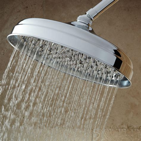 Lambert Rainfall Nozzle Shower Head With Standard Arm Bathroom Shower Heads