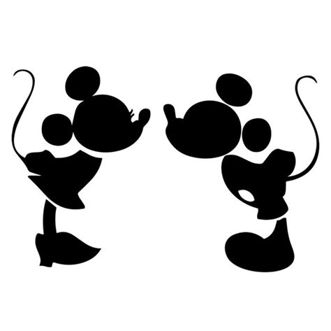 mickey and minnie mouse kiss svg mickey and minnie mouse kiss