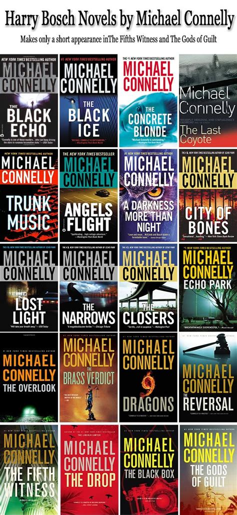 1409147509 harry bosch tome the harry bosch series by michael connelly the books in order