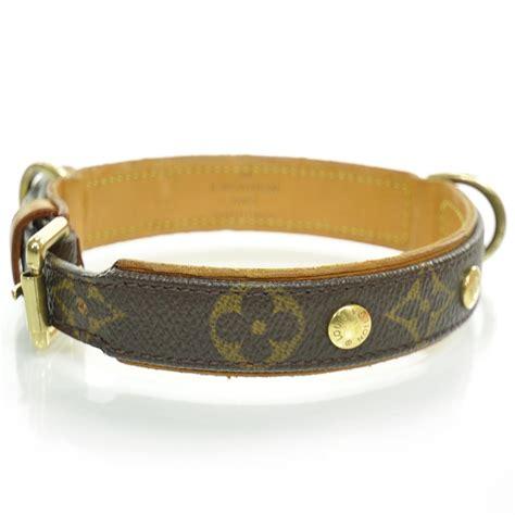 loui vuitton collar louis vuitton monogram baxter collar 23473
