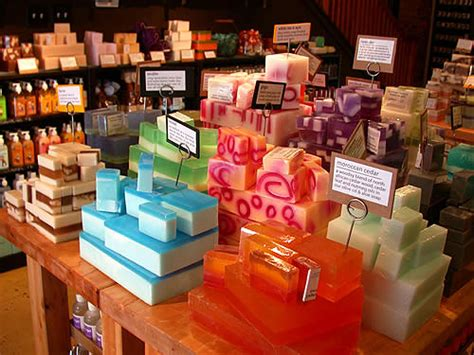 The Handmade Shop - soap store on soap display soap shop and