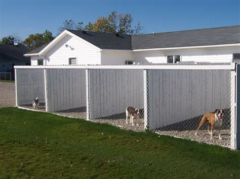 choosing outdoor dog kennel home pet care dog runs then connected to land where they have room to