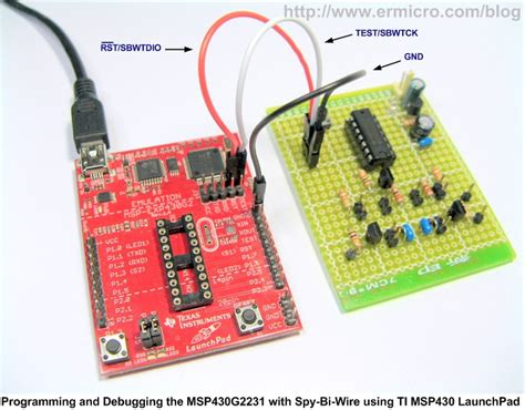 Saklar 8 Pin the line follower robot with instruments 16 bit msp430g2231 microcontroller ilham prasetyo