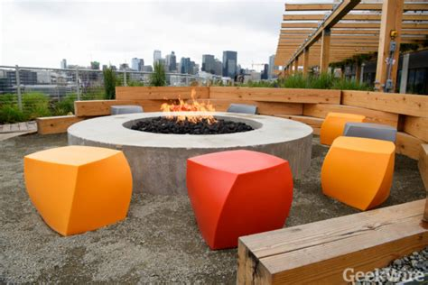 rooftop pit photos s epic new seattle outpost raises the bar