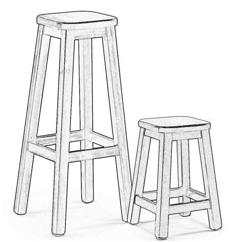 sgabelli in legno sgabello in legno grezzo design casa creativa e mobili