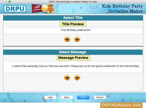 free invitation maker software for mac invitation maker on mac images invitation sle and